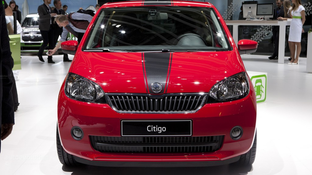 Škoda Citigo (red)