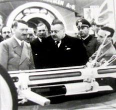 Adolf Hitler na obisku