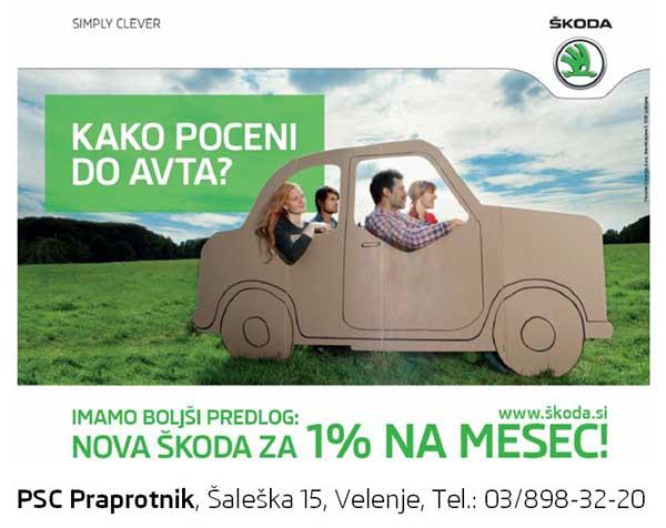 PCS Praprotnik - kako poceni do avta?
