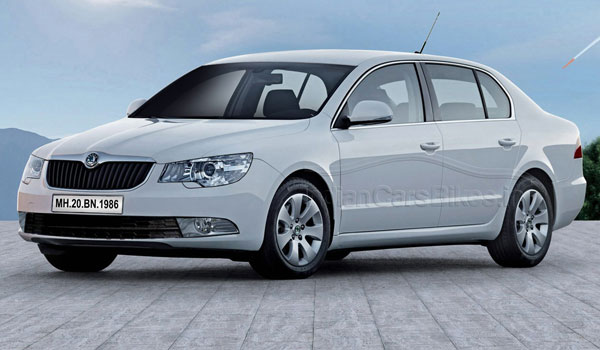 Skoda Superb (facelift) 2013
