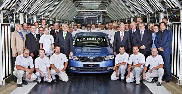Škoda Rapid - začetek proizvodnje!