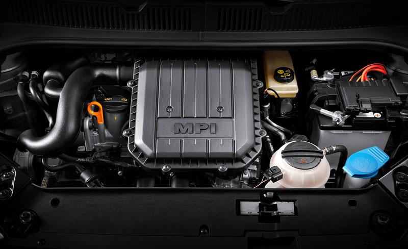Škoda Citigo - motor