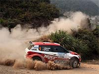 Rally China - Škoda Fabia Super 2000 (SWRC)
