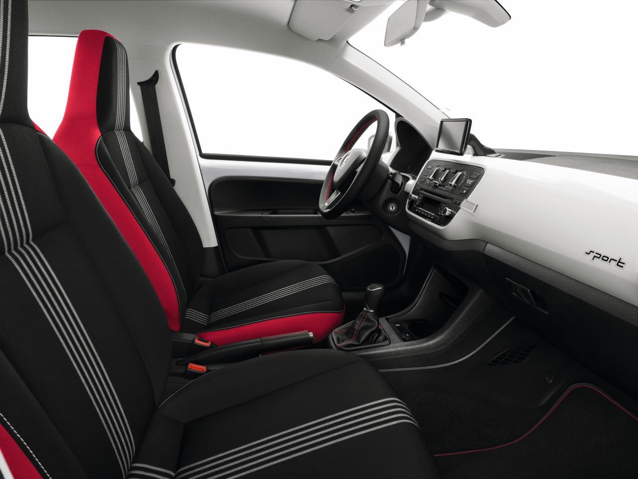 Škoda Citigo Sport (Športni pridih armature)