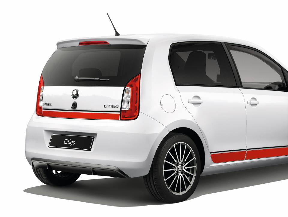 Škoda Citigo Sport (difuzor in zadnji spojler)