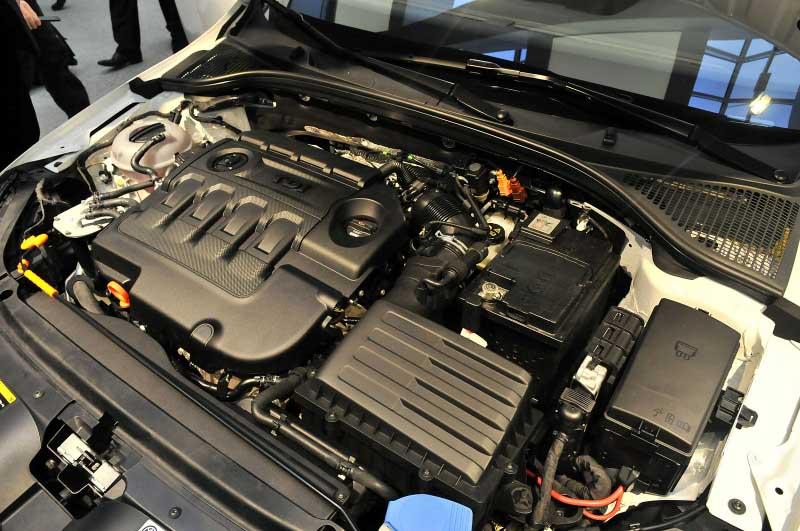 Škoda Octavia III (2013) - motor