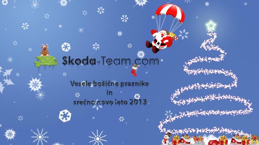 Vaš klub Škoda Team Slovenija - Srečno 2013