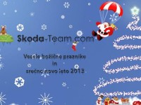 Vaš klub Škoda Team Slovenija - Srečno 2013 (Copyright: Air T.)