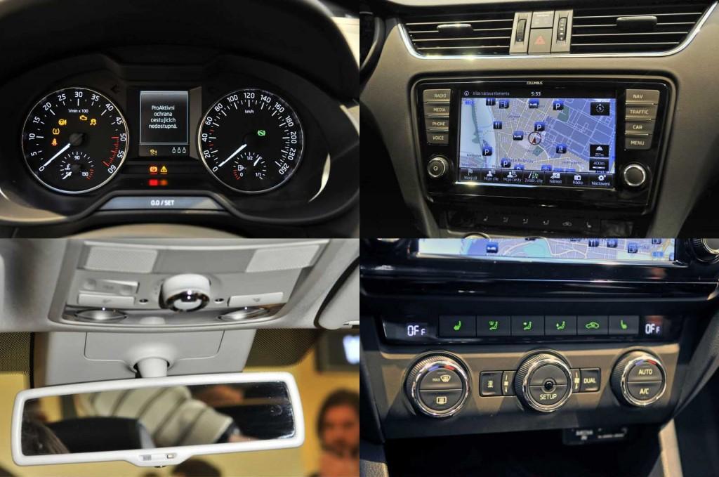 Škoda Octavia III (2013) - notranjost
