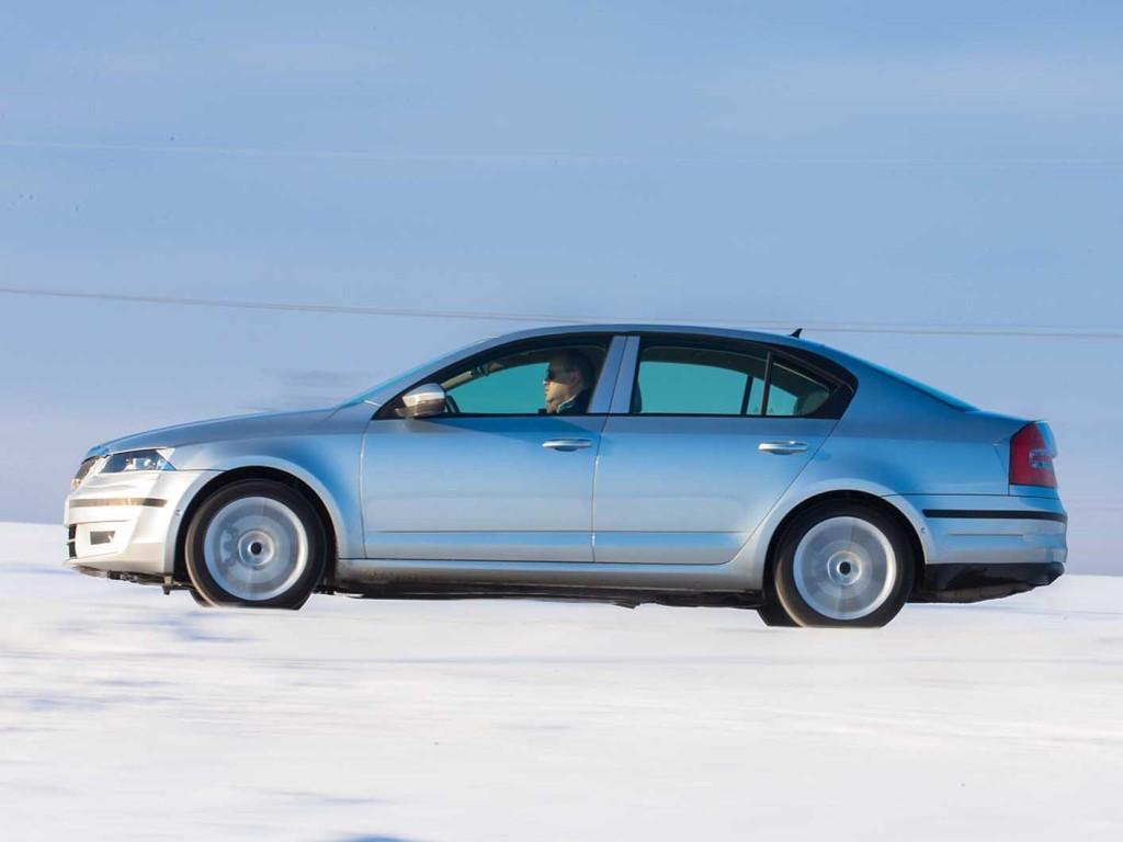 Škoda Octavia III 1.8 TSI DSG SE plus - na testni vožnji