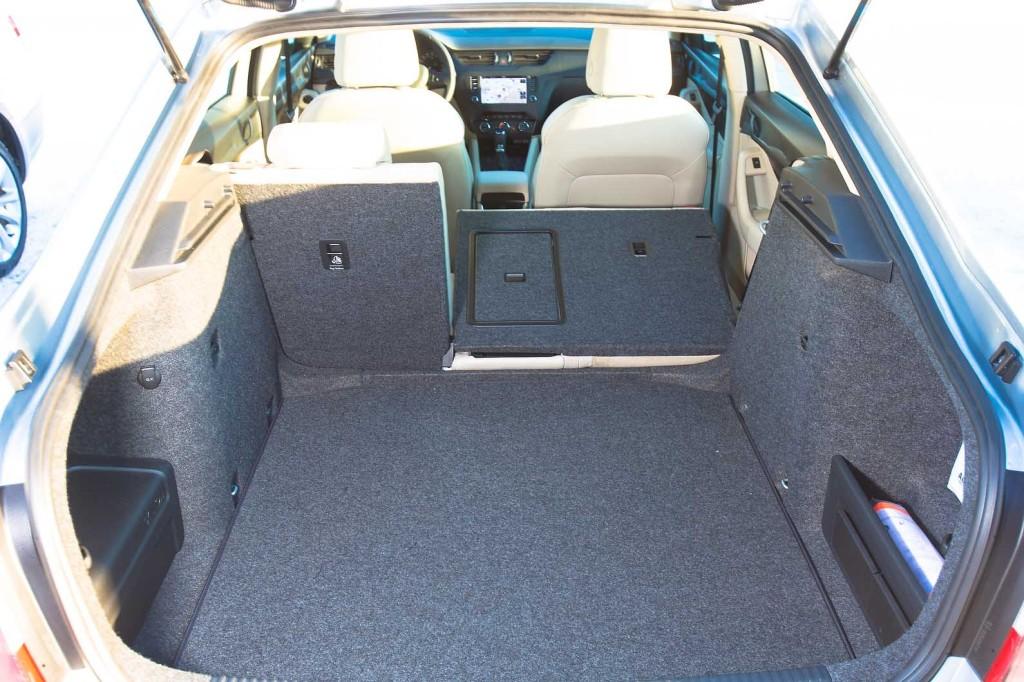 Škoda Octavia III 1.8 TSI DSG SE plus - prtljažnik
