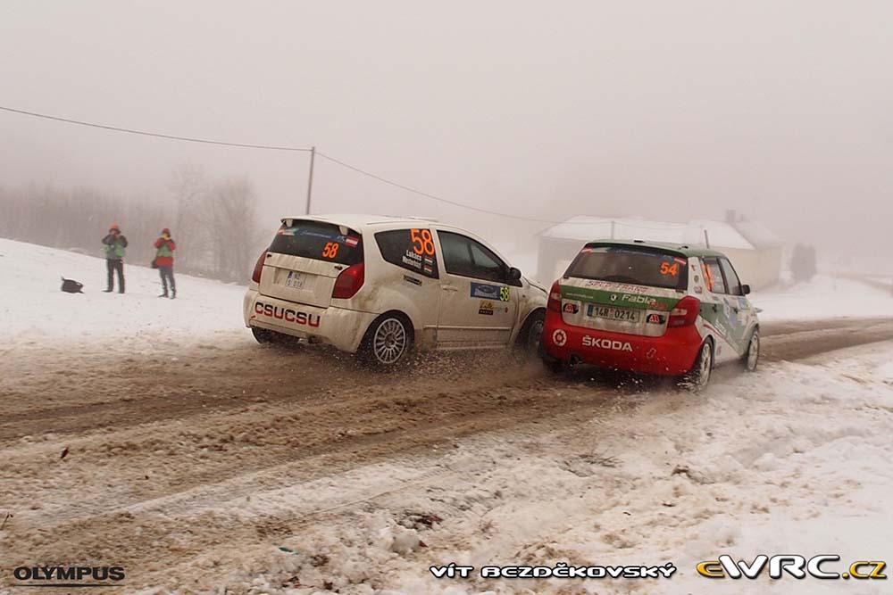 Elwis Chentre - Škoda Fabia R2 - Janner Rally 2013