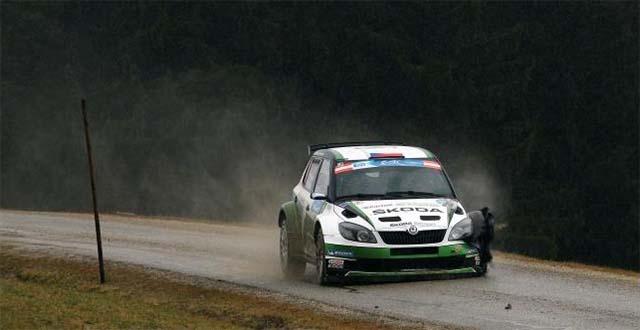Jan Kopecky - Škoda Fabia S2000 - Janner Rally 2013