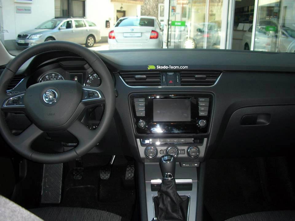 Škoda Octavia III (2013) 1.2 TSI - notranjost