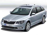 Škoda Superb Combi facelift (2013)