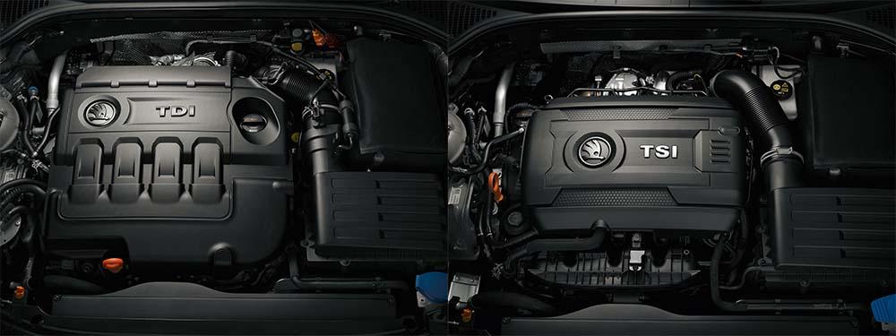 Škoda Superb facelift (2013) - paleta motorjev TDI in TSI