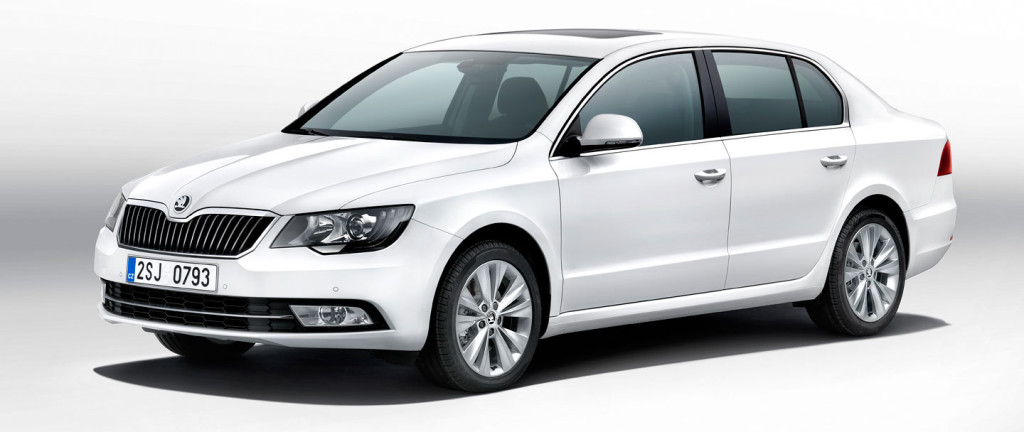 Škoda Superb facelift (2013)