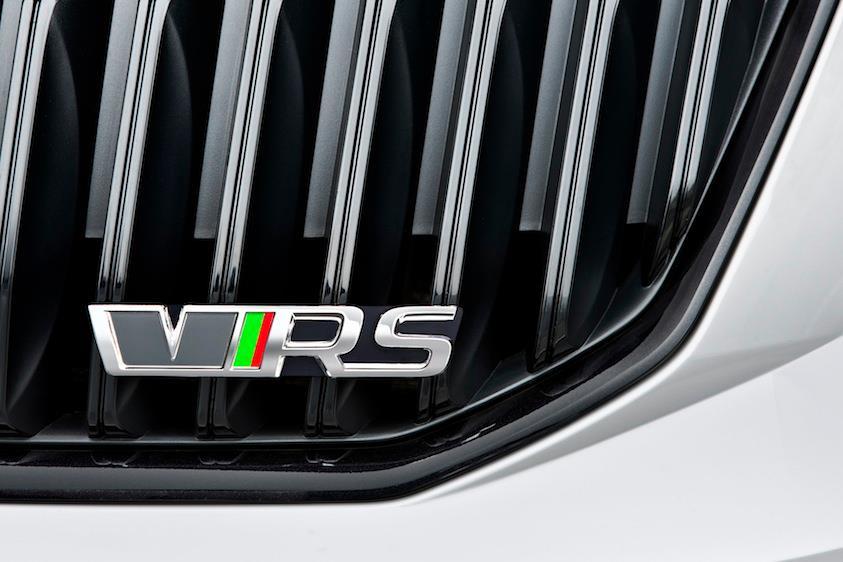 Škoda Octavia vRS III (2013) - vRS maska