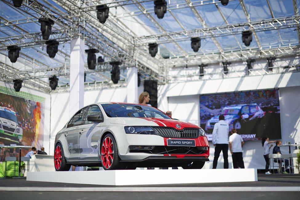 "Škoda Rapid Sport ""koncept"""