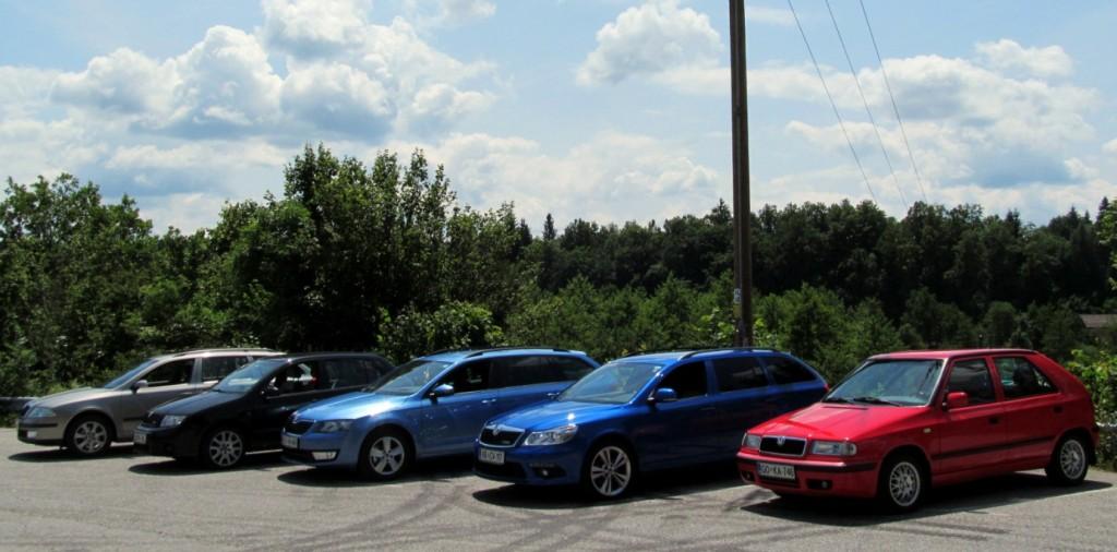 Škoda Team piknik, 29.6.2013 - Skupinska slika pred Trubarjevo domačijo