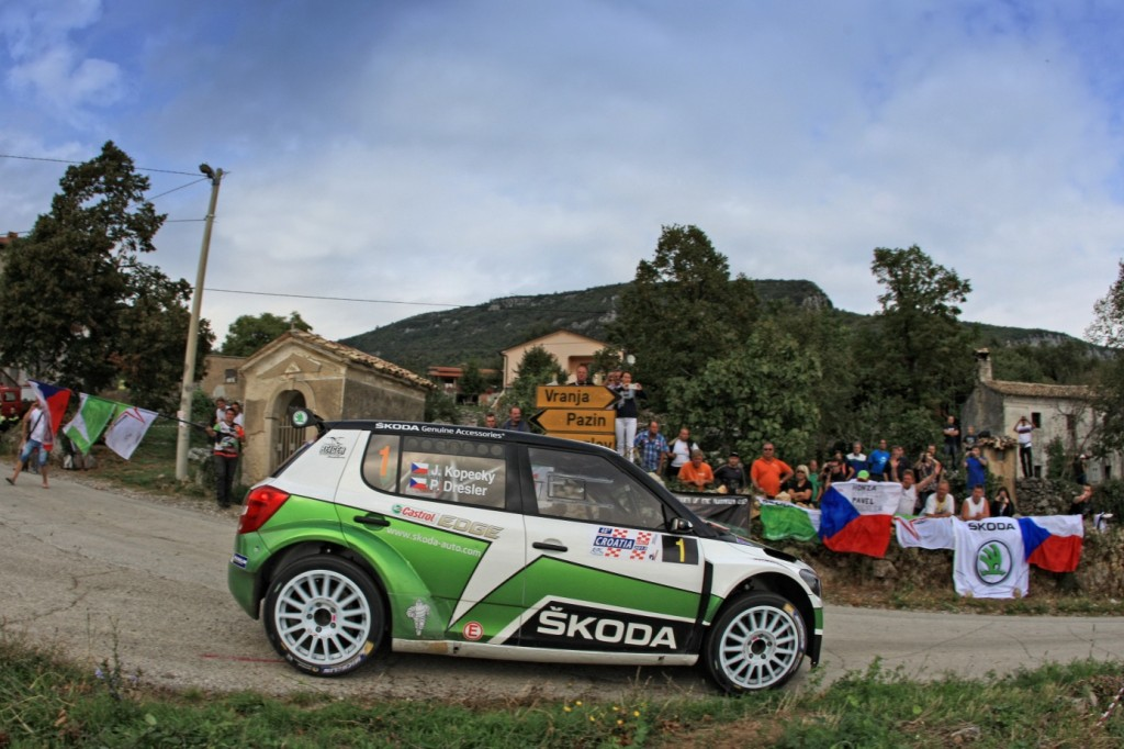 Kopecky suvereno do zmage na 40. Croatia Rally