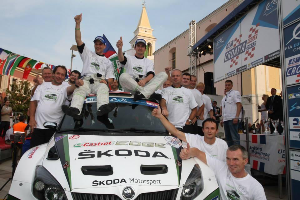 Zmaga Škode Motorsport na Hrvaškem