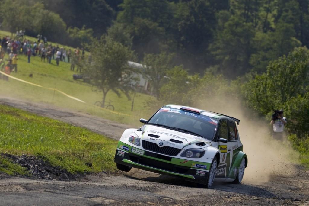 Škoda Fabia Super 2000 - Jan Kopecky/Pavel Dresler