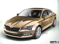 Škoda Superb 2015 - render