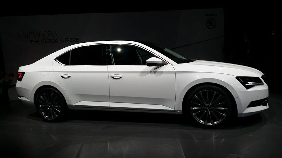 Škoda Superb 2015
